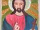 «Родной Иисус»  34Х40    двп, масло.  Февраль 2013